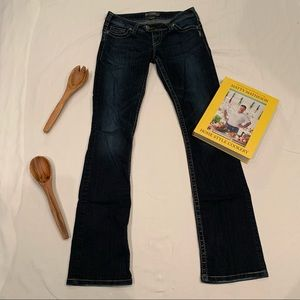 """Silver Jeans Tuesday 16 1/2"""" straight leg jeans"""